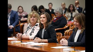 State Representatives give Testimony on Bi-Partisan Sexual Assault Bill Package