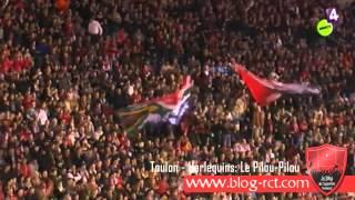 Toulon - Harlequins: Entrée des joueurs et le Pilou-Pilou !