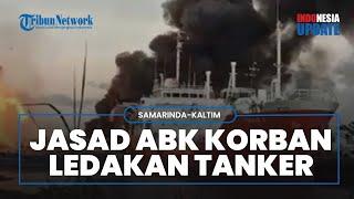 Kapal Tongkang Meledak, Jasad Korban Diduga ABK Kapal Ditemukan Mengapung dengan Luka Bakar