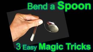 How to Bend a Spoon - Learn Three Magic Tricks