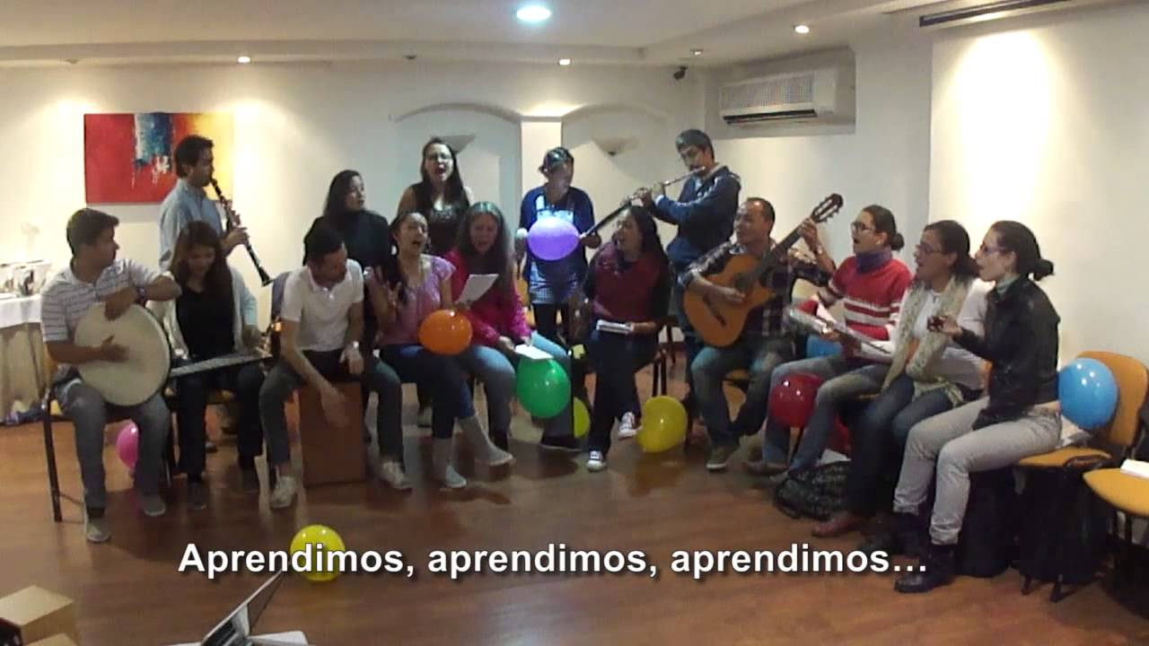 Seminario Estimulación Prenatal Musical de Gabriel Federico en Bogotá - Colombia 2015