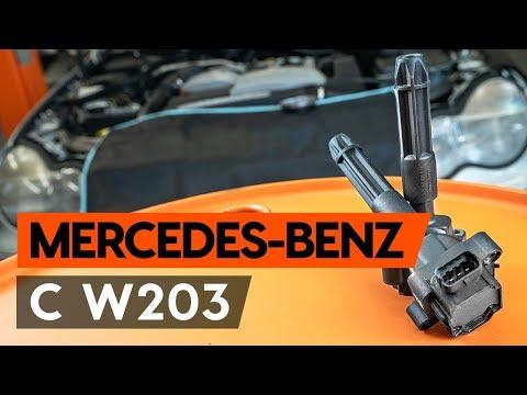 Come sostituire bobina d'accensione su MERCEDES-BENZ С W203 [TUTORIAL AUTODOC]
