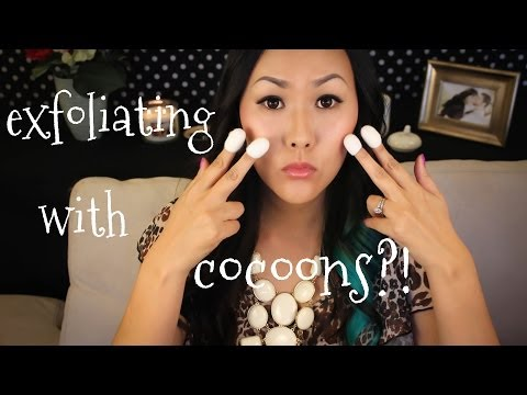 Exfoliating with Cocoons?! Review & Demo