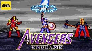 Avengers Endgame Final Battle - 16 Bit Scenes
