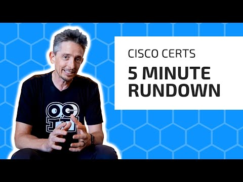 New 2020 Cisco Certifications Explained in 5 Minutes | CCNA 200 ...