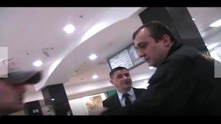 (Ответ полиции)  ОХРАНА Трц распускает руки!! Запрет на видео съёмку!