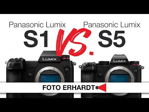 Versus: Panasonic Lumix DC-S1 vs. DC-S5