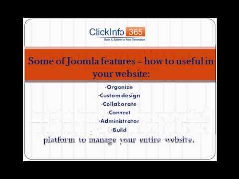 Benefit of Joomla