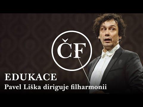 Pavel Liška diriguje Českou filharmonii