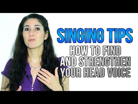 Freya's Singing Tips: How to FIND and STRENGTHEN your HEAD VOICE