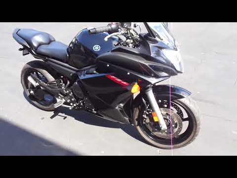 2011 Yamaha FZ6R in Chula Vista, California - Video 1