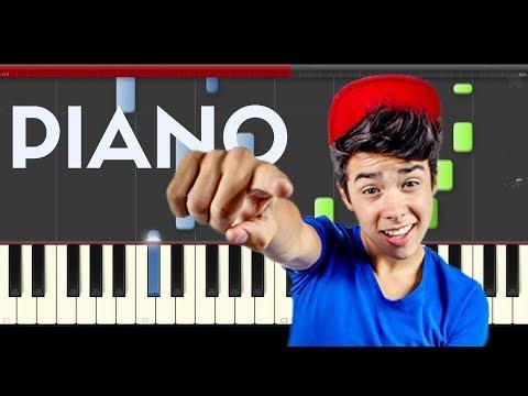 Mario Bautista Regalame Piano Midi tutorial Sheet app Cover Karaoke