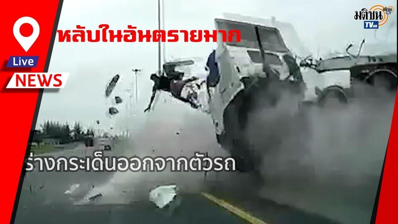 В Таиланде водитель грузовика погиб из-за того, что уснул за рулем