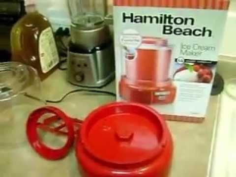 Hamilton Beach Ice Cream Maker Model 68881Z Review