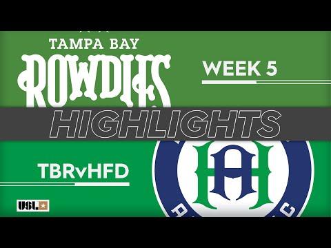 Tampa Bay - Hartford Athletic 4:0. Видеообзор матча 07.04.2019. Видео голов и опасных моментов игры