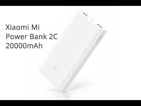 Обзор Xiaomi Mi Power Bank 2C (20000