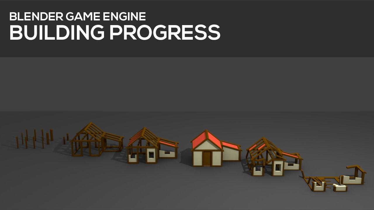 Building progress and destruction in Blender's Game Engine [Tutorial]