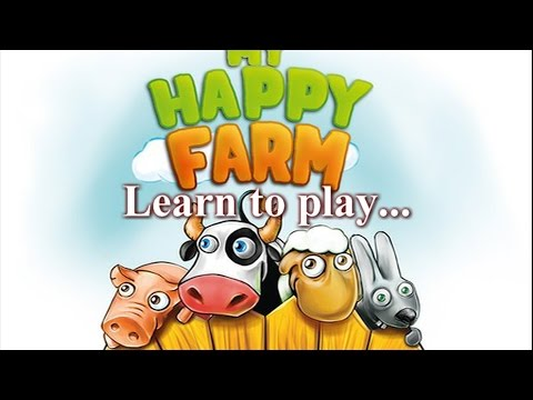 Learn to Play (the Vitruvian Way): My Happy Farm