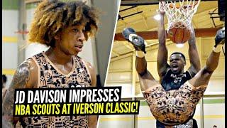 JD Davison & Paolo Banchero IMPRESS 30 NBA Scouts at Iverson Classic! Full Scrimmage Highlight!