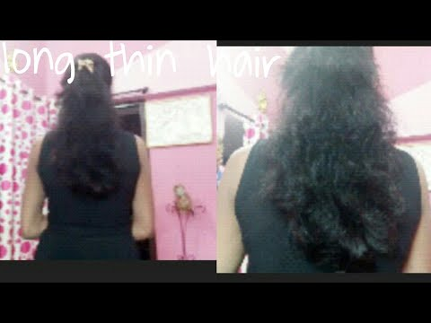 Long,thin Hair Kaise New Look,style Me Cut Kare HOBBIES Of Asharai,Bilaspur Cg