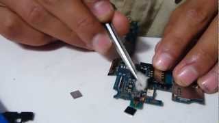Smasung S2 Dead fix by changing power ic [HD]