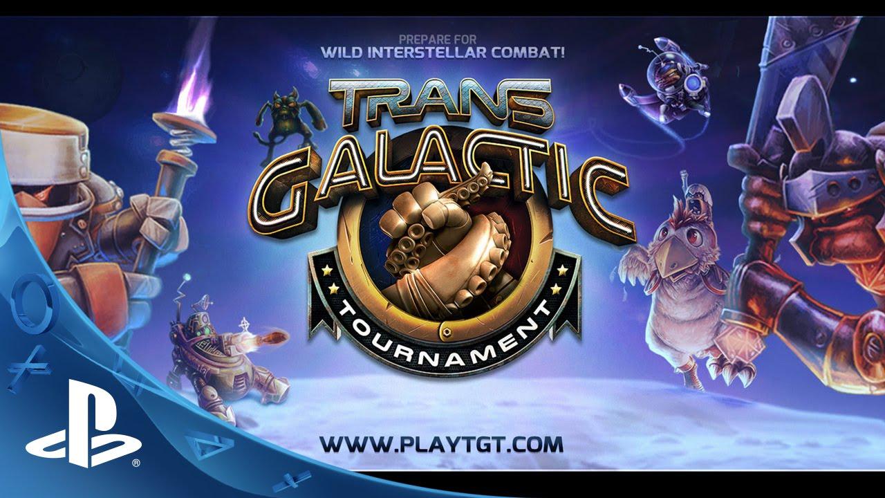 Trans-Galactic Tournament, un frenético MOBA para PS4