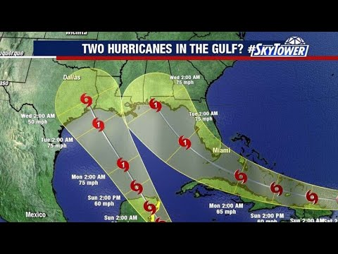 First Time In History: Two Hurricanes Could Hit At Same Time