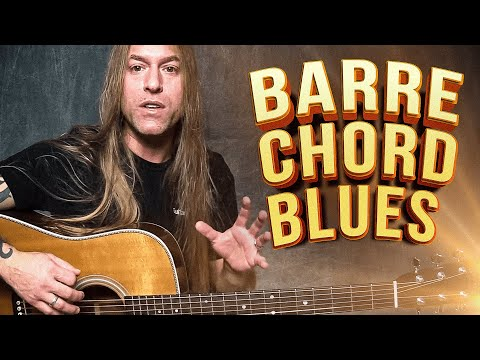 Expanding Rhythm Technique With Barre Chord Blues | Steve Stine | Guitar Zoom