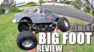 VRX Racing BIGFOOT BF-4 4x4 Crawler RH1046 Review - 1:10 RC Monster Truck BASH TEST!