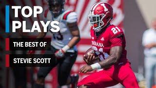 The Best of Stevie Scott: 2018 Mid-Season Highlights | Indiana | Big Ten Football