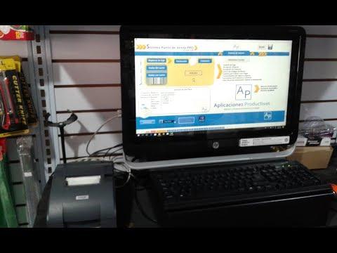 Impresión de Ticket de venta con Sistema en Excel - Prueba real