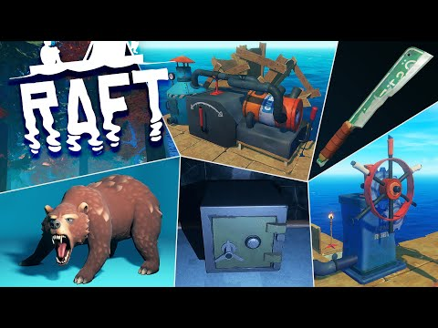 HUGE UPDATE COMING SOON! Engine, Story, Puzzles & MORE! Raft News