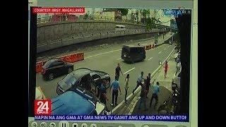 24 Oras: Traffic enforcer, sinugod, sinuntok at binatukan ng ilang sakay ng sinita niyang kotse