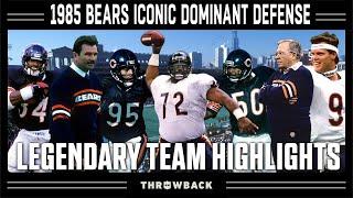 1985 Bears: The Greatest Defensive Season of All-Time! | Legendary Teams