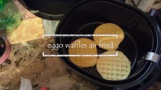 Eggo Waffles In The Air Fryer
