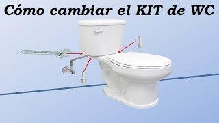 Cambio de kit de caja de WC - Explicado