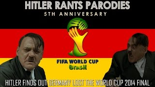 Hitler finds out Germany lost the World Cup 2014 Final