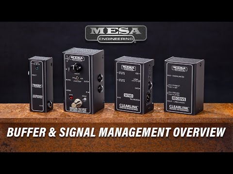 MESA BOOGIE Clearlink Receive Buffer