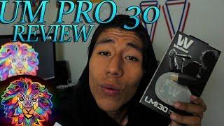Reviewing Professional Earphones! (Um Pro 30)