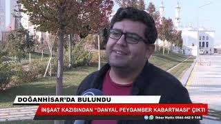 """Konya'da inşaat kazısında """"Danyal Peygamber kabartması"""" bulundu"""