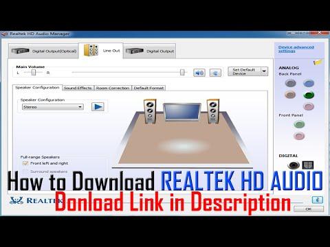 how to install realtek hd audio driver windows 8 videosbertyl. Black Bedroom Furniture Sets. Home Design Ideas