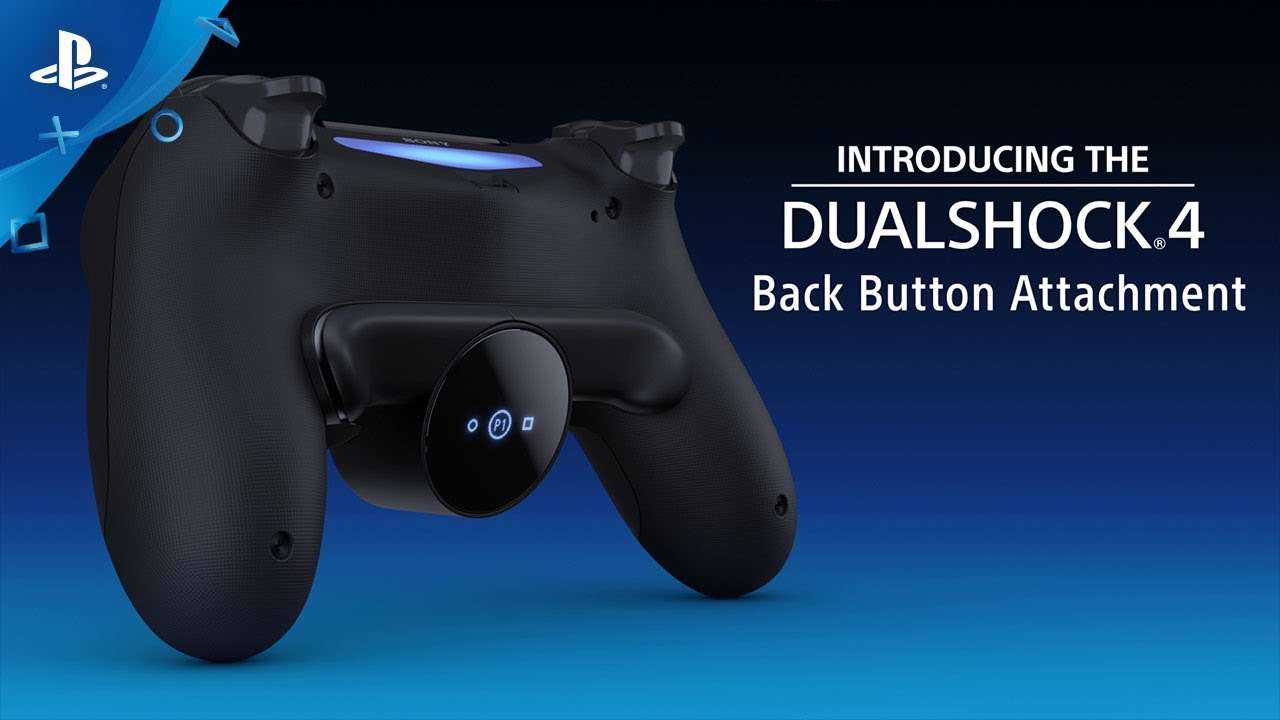 Introducing the Dualshock 4 Back Button Attachment, out 14th February