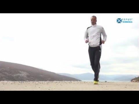 Bilećki maratonac i bez podrške osvaja kilometre