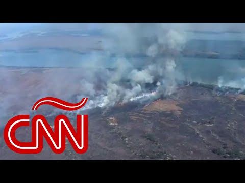 Video: Amazonas en llamas: el pulmón del planeta ha sido devastado