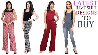Trendy Jumpsuits for girls / women   latest fashion wear jumpsuits designs for girls