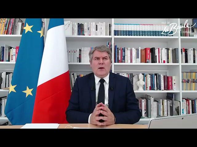 Échanges avec Monsieur Le Maire