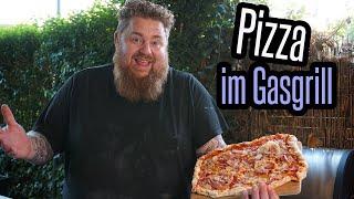Pizza im Gasgrill mit Pizzastein und Trick! BBQ & Grillen für jedermann