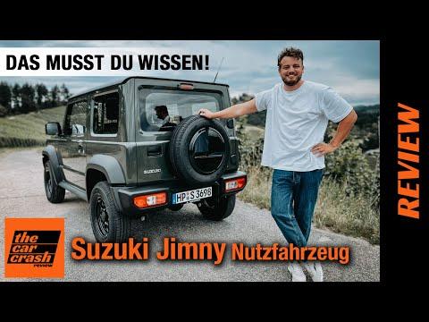 Suzuki Jimny Nutzfahrzeug (2021): Das MUSST du WISSEN! Fahrbericht   Review   Test: On/Offroad   4x4