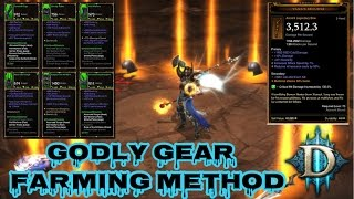 Diablo 3: RoS Patch 2.4.1 Farming 101 and Methods to Perfect Godly Gear