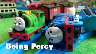 """トーマス プラレール ガチャガチャ パーシーはパーシー Tomy Plarail Thomas """"Being Percy"""""""
